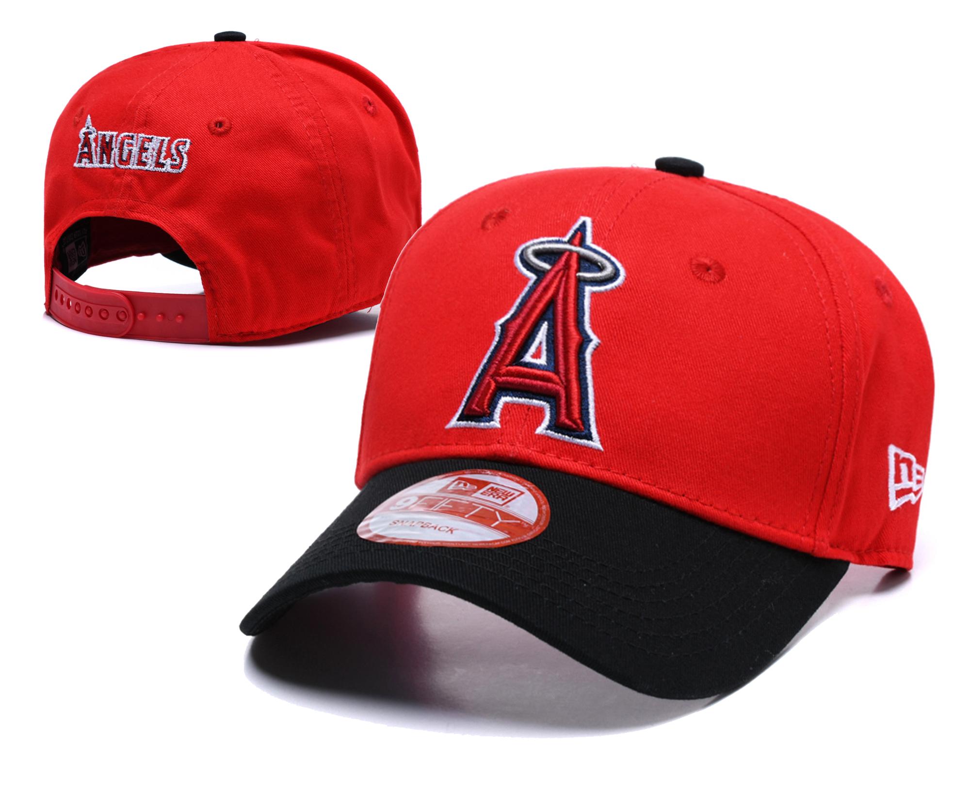 Angels Fresh Logo Red Adjustable Hat TX