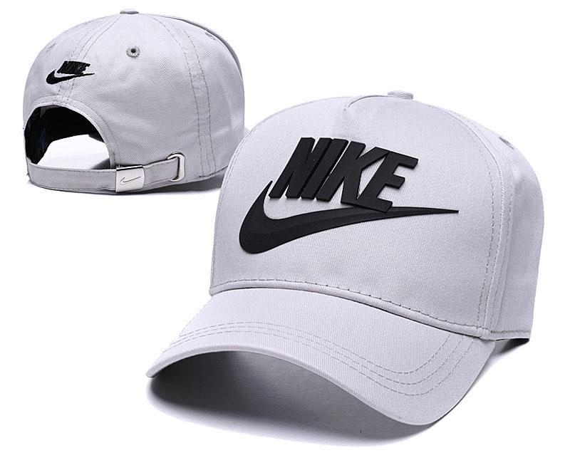 Nike Classic Gray Peaked Adjustable Hat TX