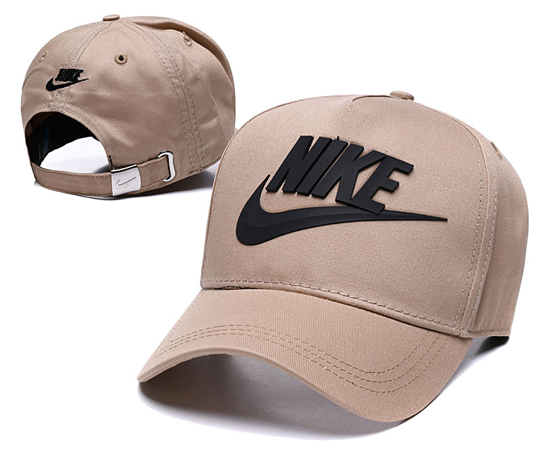 Nike Classic Khaki Peaked Adjustable Hat TX