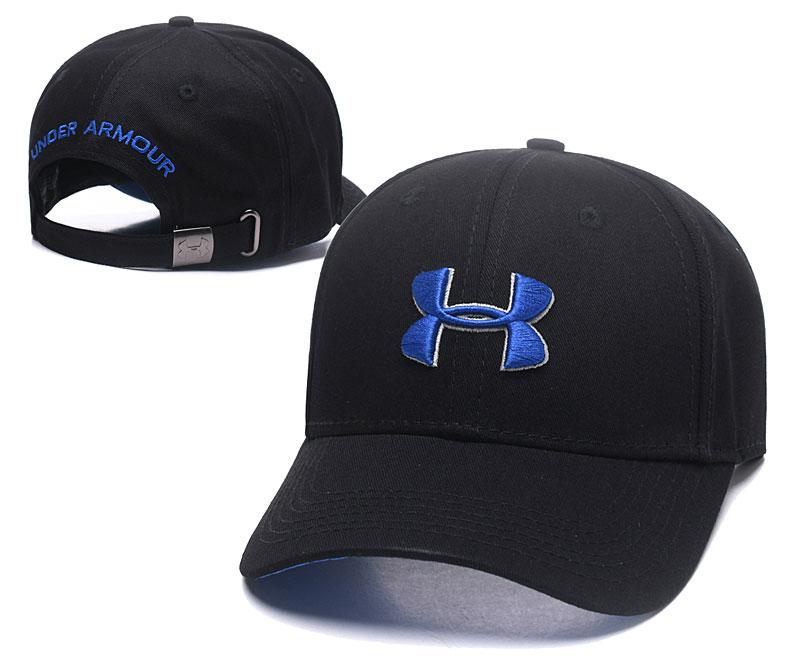 Under Armour Classic Black Peaked Adjustable Hat TX