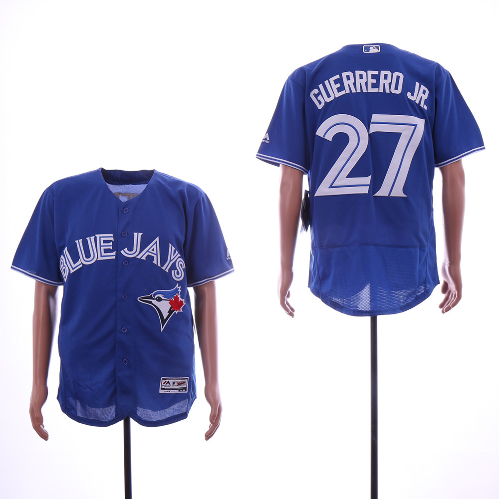 Blue Jays 27 Vladimir Guerrero Jr. Royal Flexbase Jersey