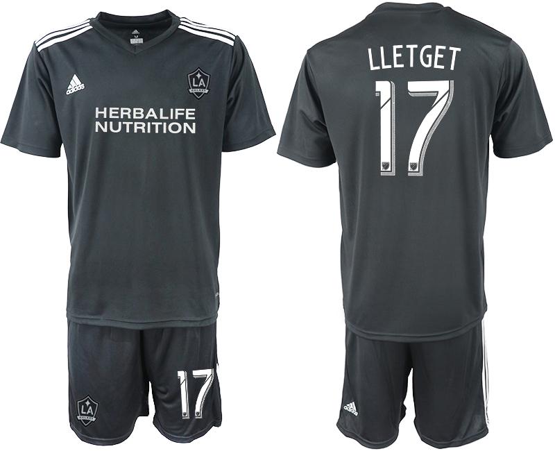 2018-19 Los Angeles Galaxy 17 LLETGET Black Training Soccer Jersey