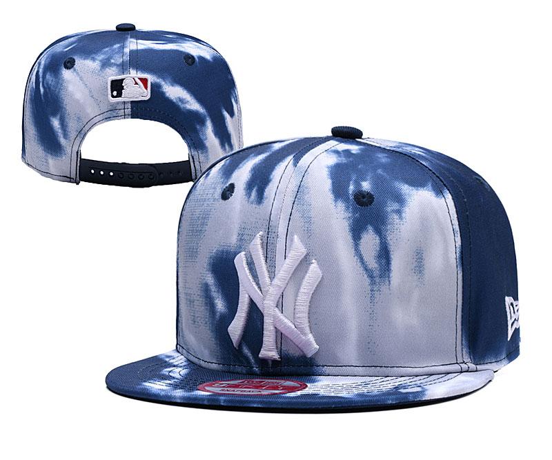 Yankees Fresh Logo Fashion Adjustable Hat YD