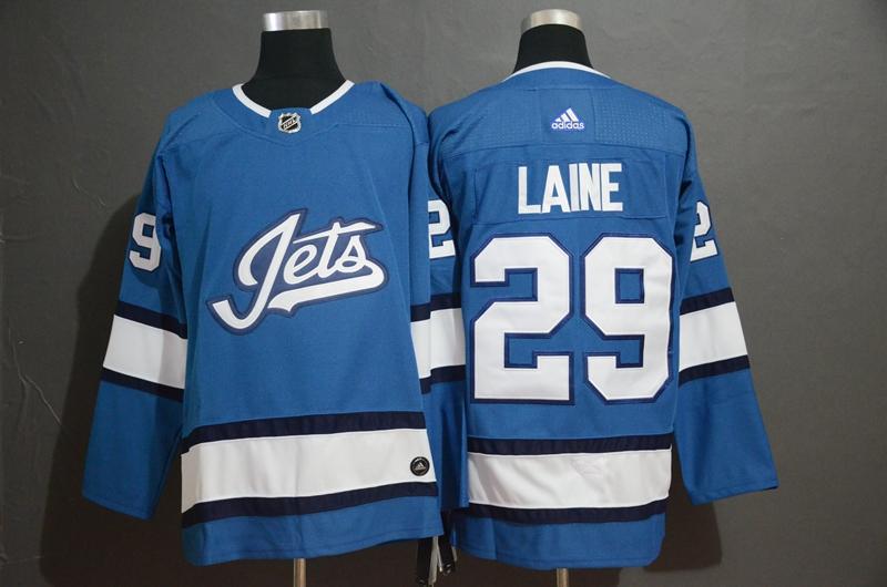 Winnipeg Jets 29 Patrik Laine Blue Alternate Adidas Jersey