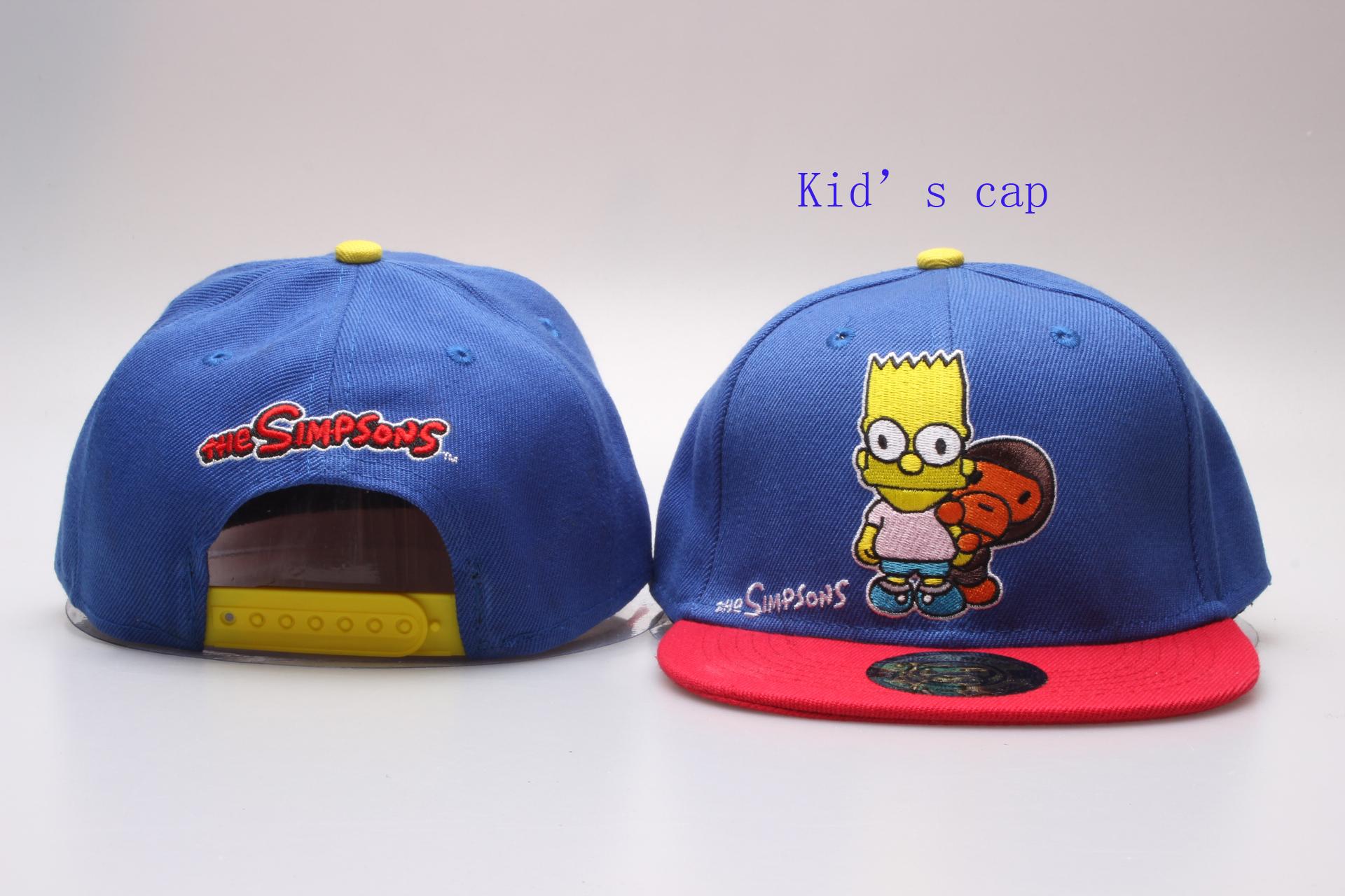 The Simpsons Logo Kid's Snapback Adjustable Hat YP