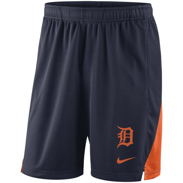 Men's Detroit Tigers Nike Navy Franchise Performance Shorts