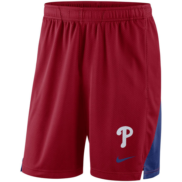 Men's Philadelphia Phillies Nike Red Franchise Performance Shorts