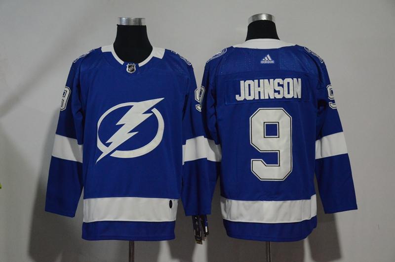 Lightning 9 Tyler Johnson Blue Adidas Jersey