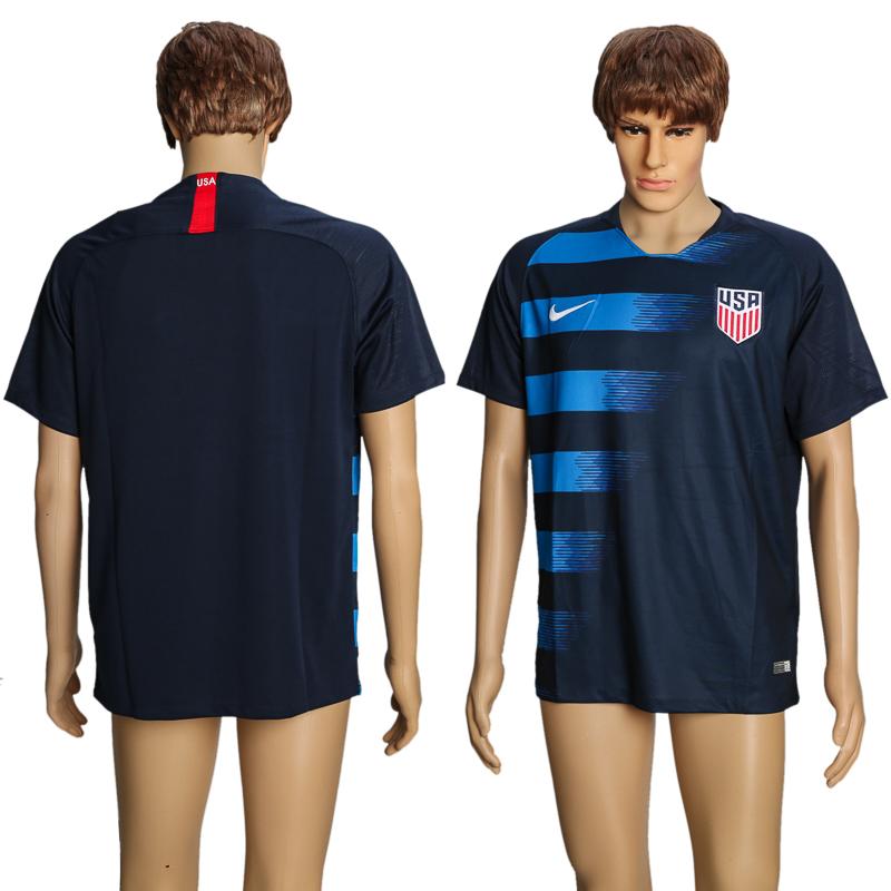 2018-19 USA Away Thailand Soccer Jersey
