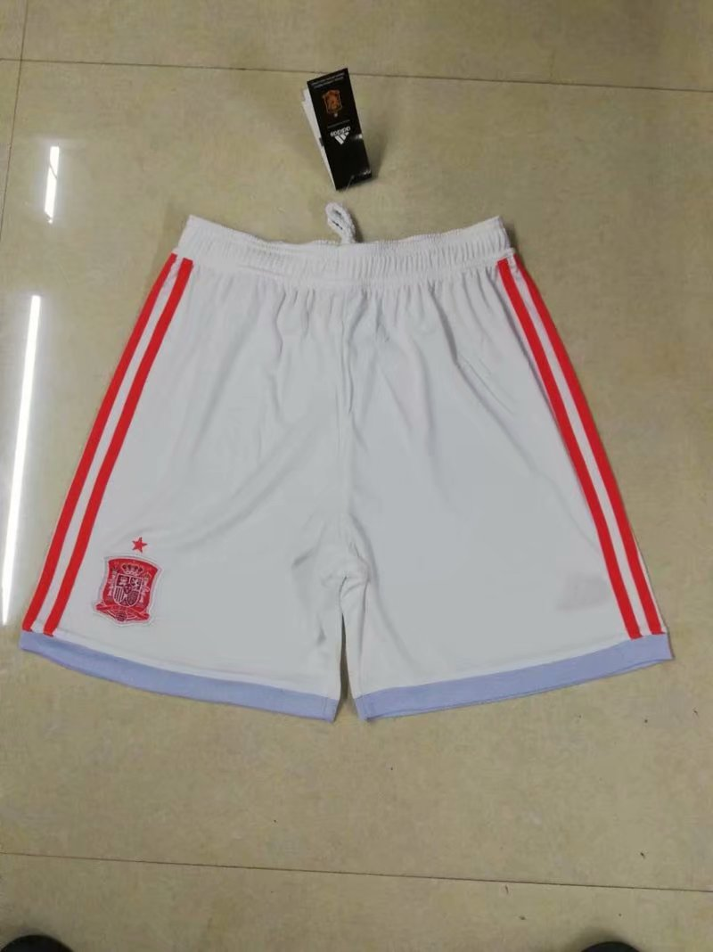 Spain Away 2018 FIFA World Cup Thailand Soccer Shorts