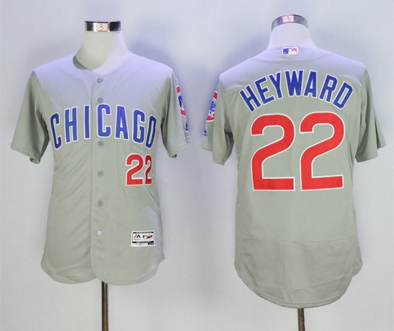 Cubs 22 Jason Heyward Gray Flexbase Jersey