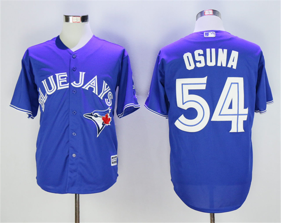 Blue Jays 54 Roberto Osuna Royal Cool Base Jersey