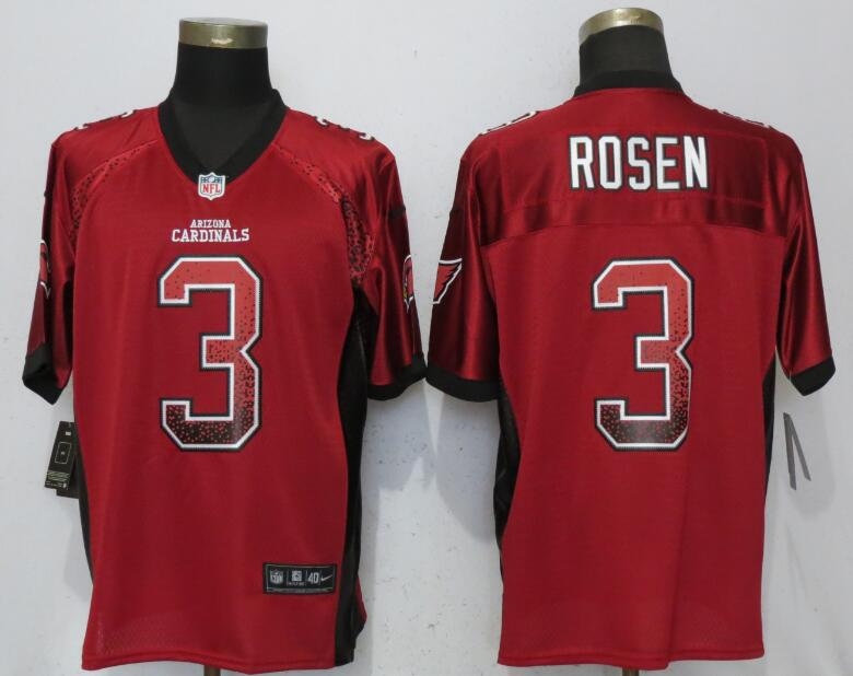 Nike Cardinals 3 Josh Rosen Red Drift Fashion Elite Jersey
