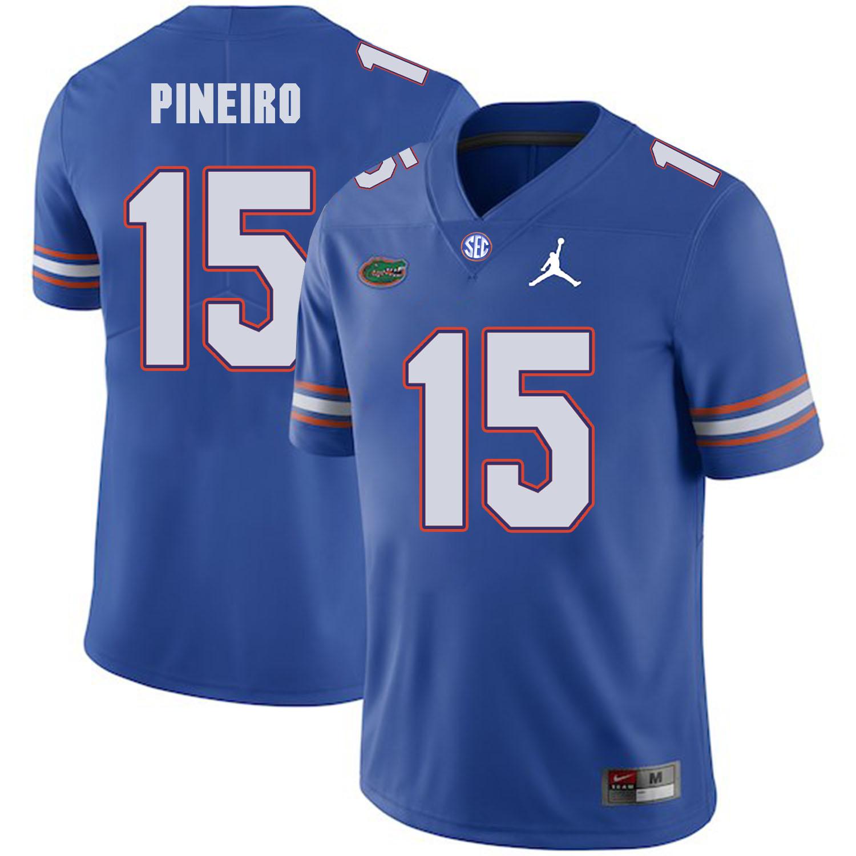 Florida Gators 15 Eddy Pineiro Blue College Football Jersey