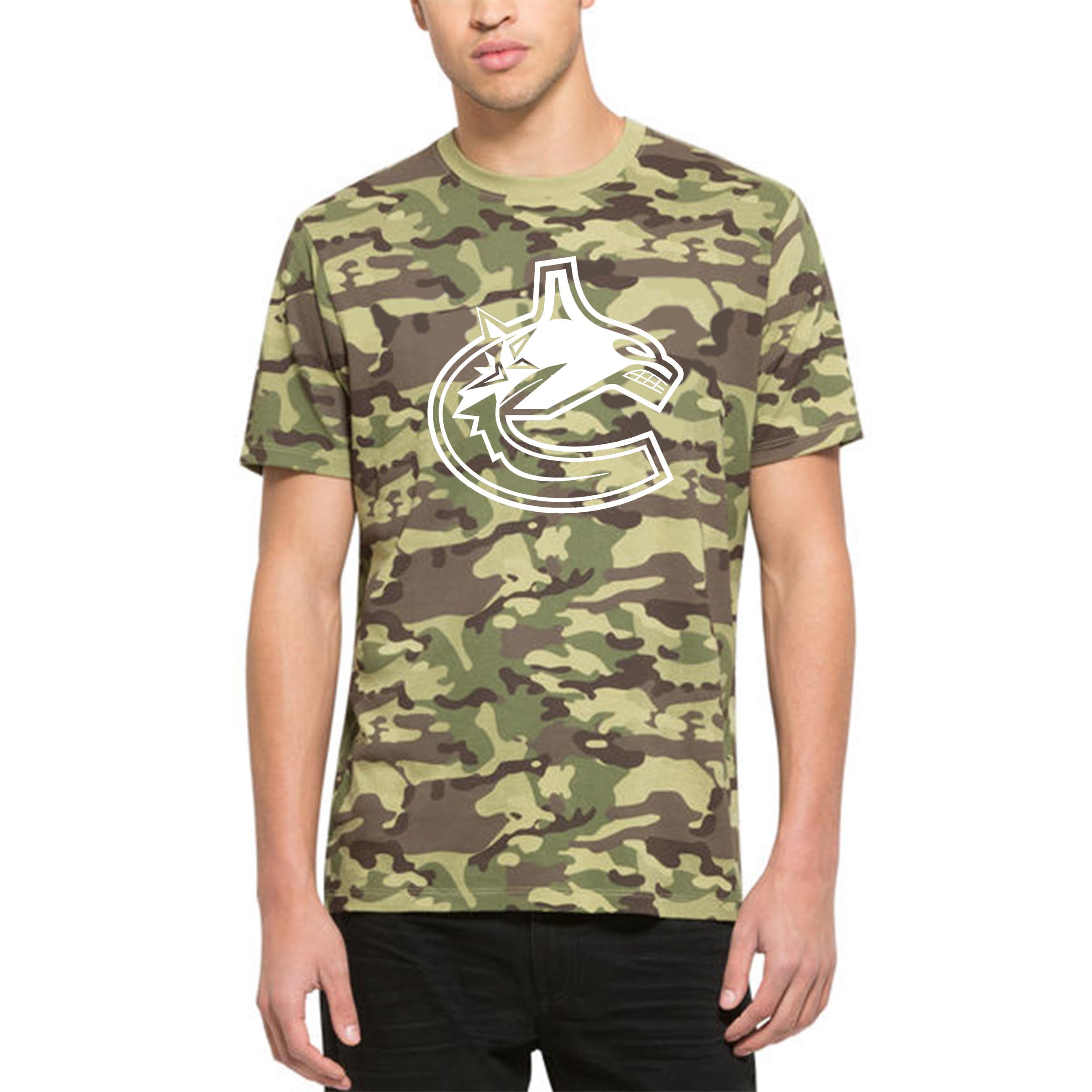 Vancouver Canucks '47 Alpha T-Shirt Camo