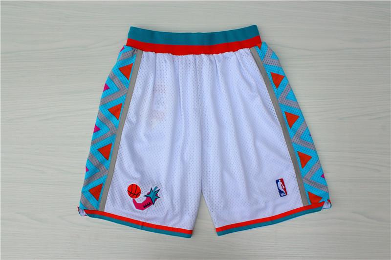 1996 All-Star White Hardwood Classics Shorts