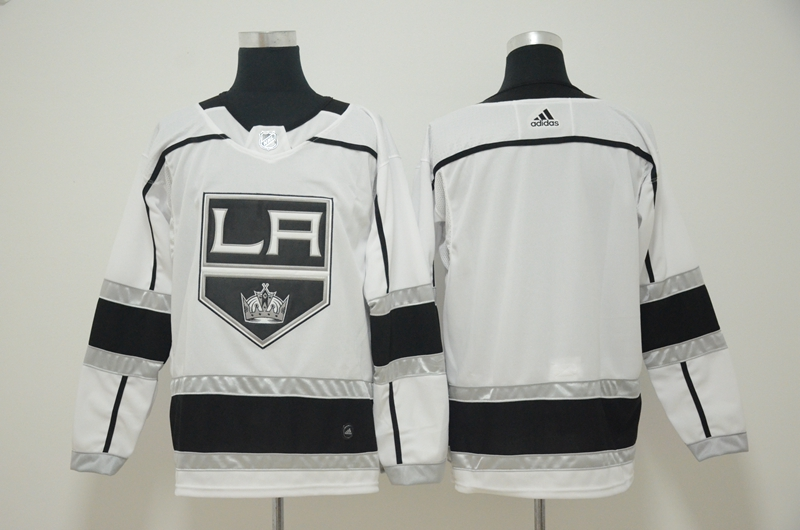 Kings Blank White Adidas Jersey