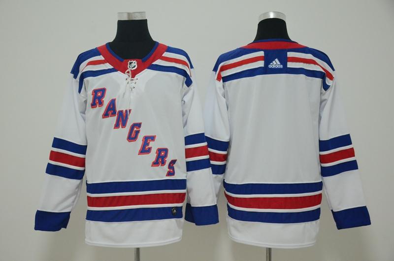 Rangers Blank White Adidas Jersey