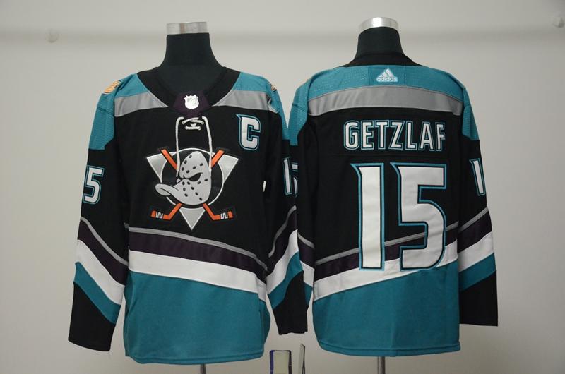 Ducks 15 Ryan Getzlaf Black Alternate Adidas Jersey