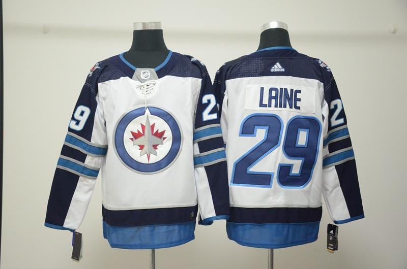 Winnipeg Jets 29 Patrik Laine White Adidas Jersey