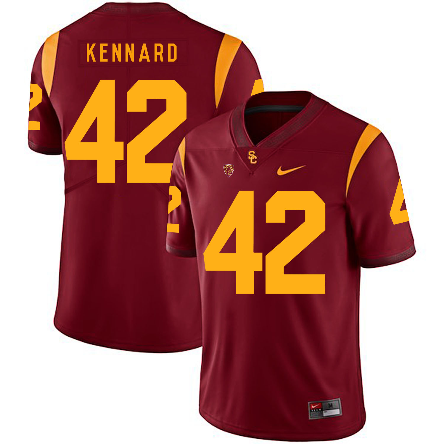 USC Trojans 42 Devon Kennard Red College Football Jersey