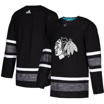 Blackhawks Black 2019 NHL All-Star Game Adidas Jersey