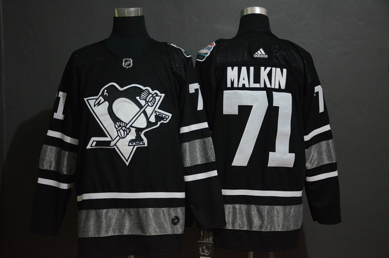 Penguins 71 Evgeni Malkin Black 2019 NHL All-Star Game Adidas Jersey