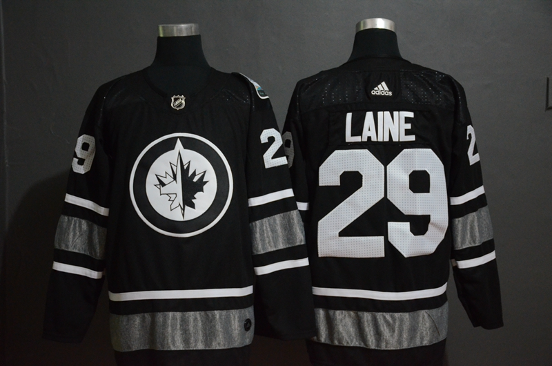 Winnipeg Jets 29 Patrik Laine Black 2019 NHL All-Star Adidas Jersey