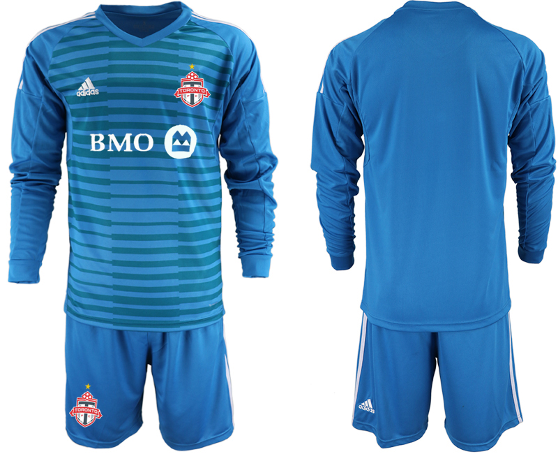 2018-19 Toronto FC Blue Long Sleeve Soccer Jersey