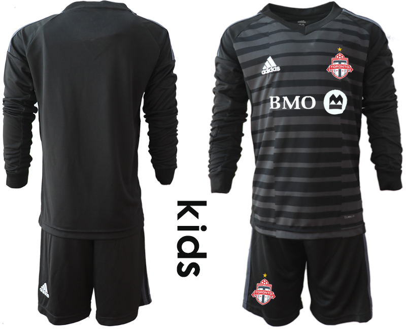 2018-19 Toronto FC Black Youth Long Sleeve Soccer Jersey