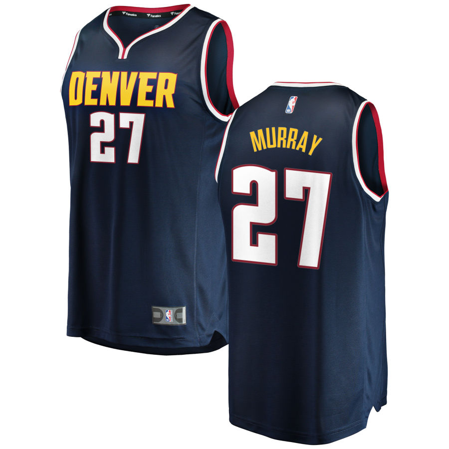 Nuggets 27 Jamal Murray Navy Nike Swingman Jersey