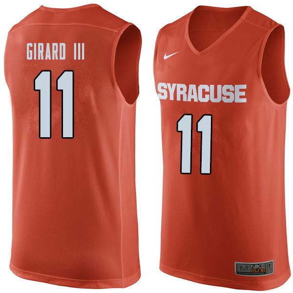 Syracuse 11 Joseph Girard III Orange College Basketball Jersey