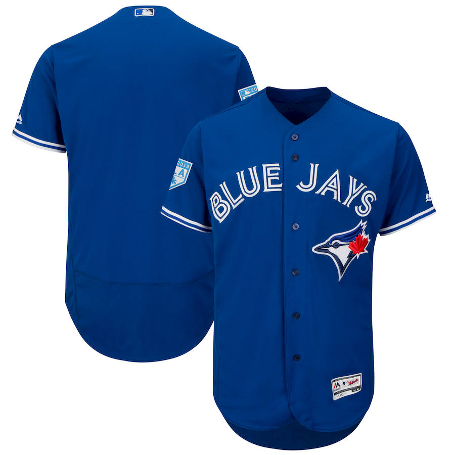 Blue Jays Royal 2019 Spring Training Flexbase Jersey