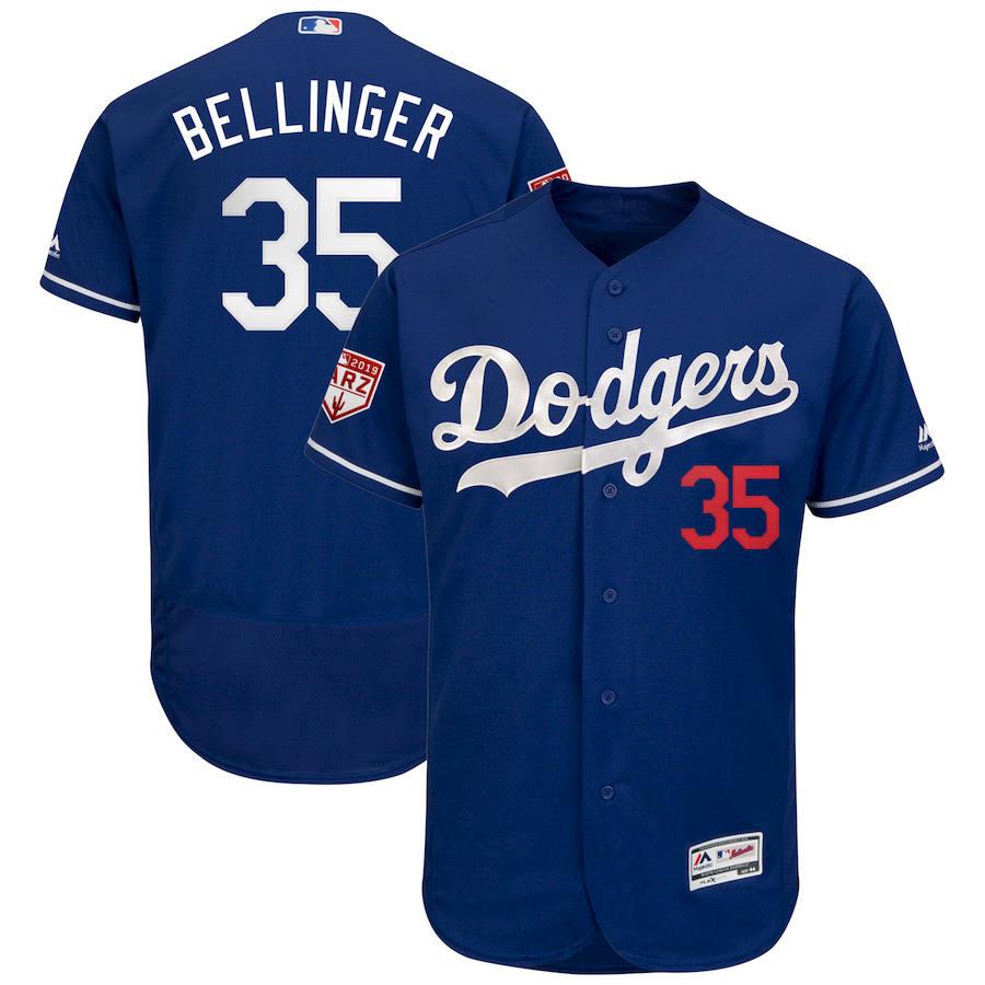 Dodgers 35 Cody Bellinger Royal 2019 Spring Training Flexbase Jersey