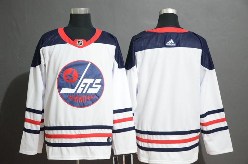 Winnipeg Jets White Breakaway Heritage Adidas Jersey