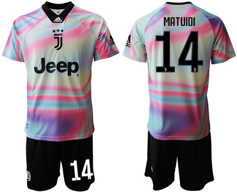 2018-19 Juventus 14 MATUIDI Maglia EA SPORTS Soccer Jersey