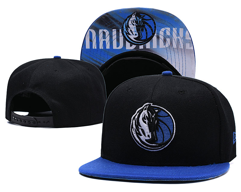 Dallas Mavericks Black Adjustable Hat LH
