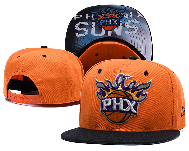 Phoenix Suns Orange Adjustable Hat LH
