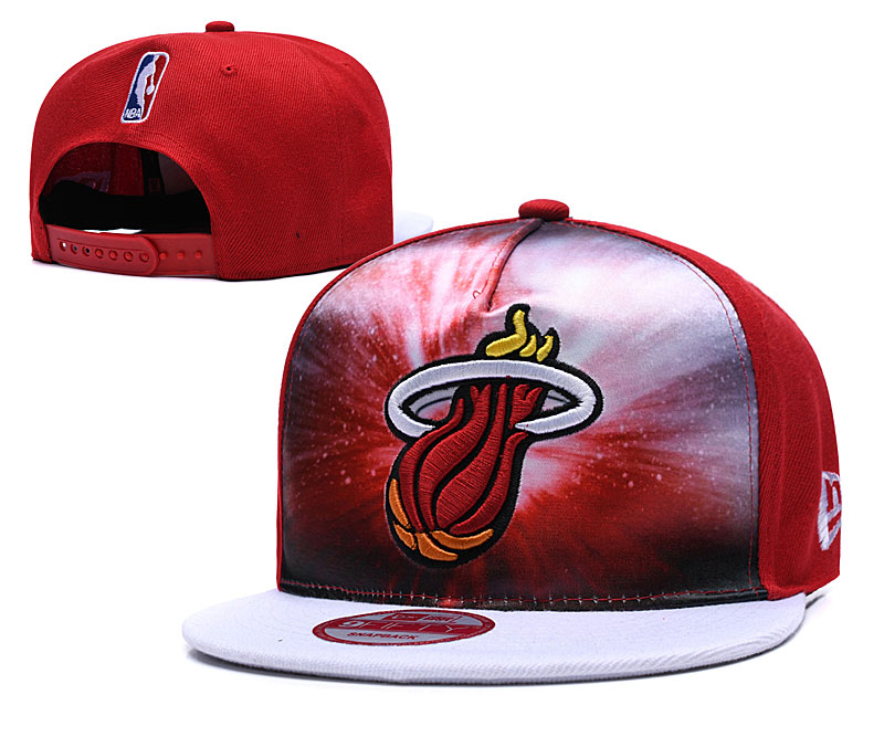 Heat Galaxy Logo Red Adjustable Hat TX