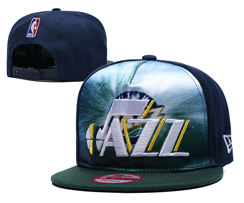 Jazz Fresh Logo Navy Green Adjustable Hat TX