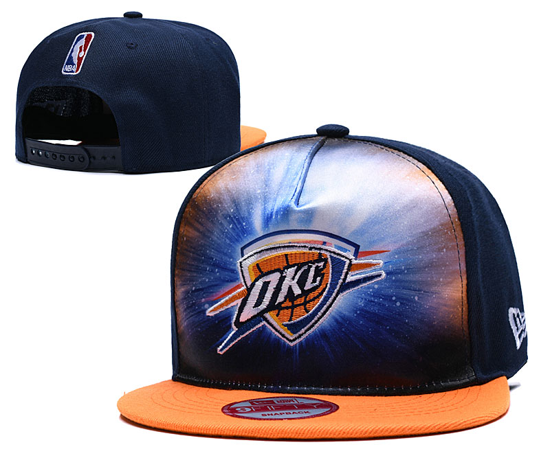 Thunder Galaxy Logo Navy Adjustable Hat TX