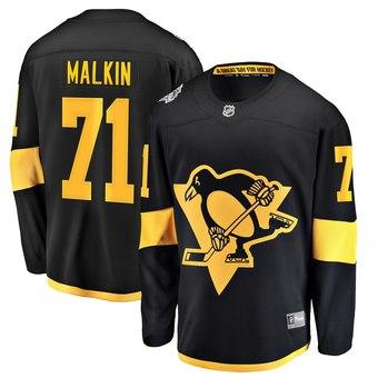 Penguins Evgeni Malkin Black 2019 NHL Stadium Series Adidas Jersey