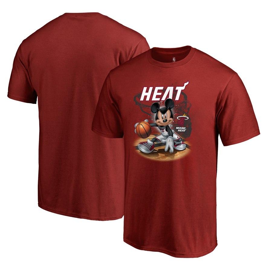 Miami Heat Fanatics Branded Disney NBA All-Star T-Shirt Red