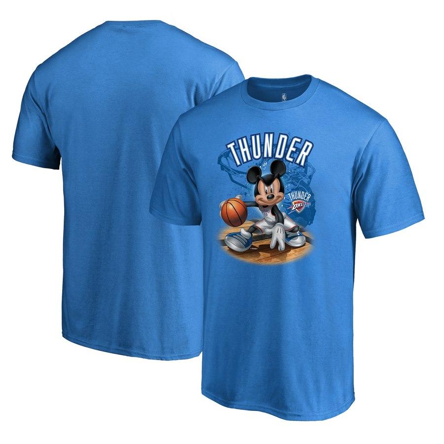Oklahoma City Thunder Fanatics Branded Disney NBA All-Star T-Shirt Blue