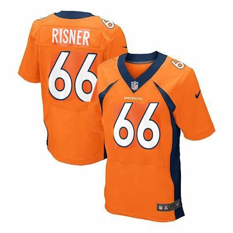 Nike Broncos 66 Dalton Risner Orange Elite Jersey