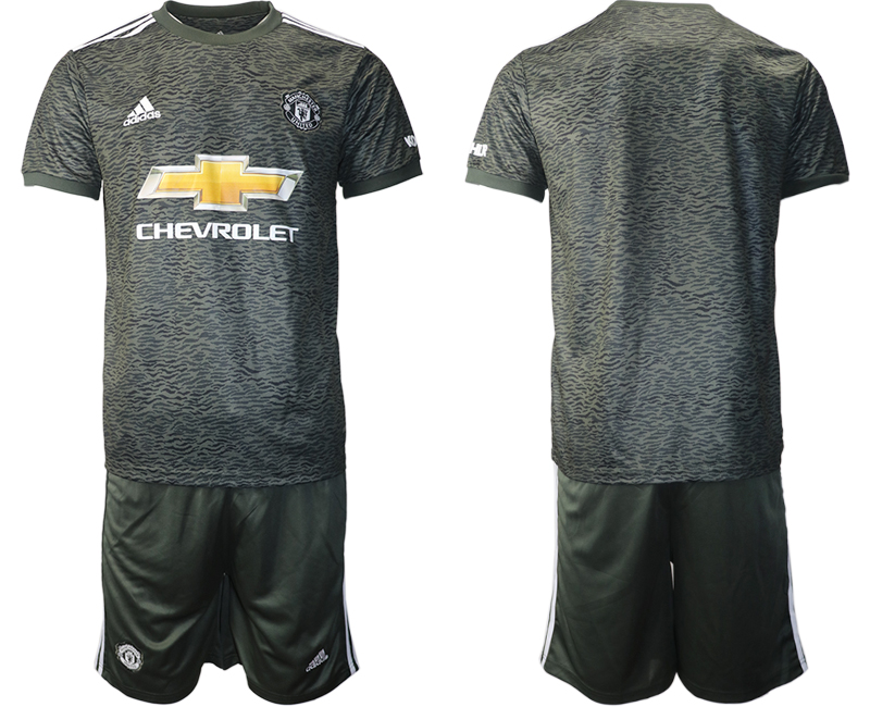 2020-21 Manchester United Away Soccer Jersey