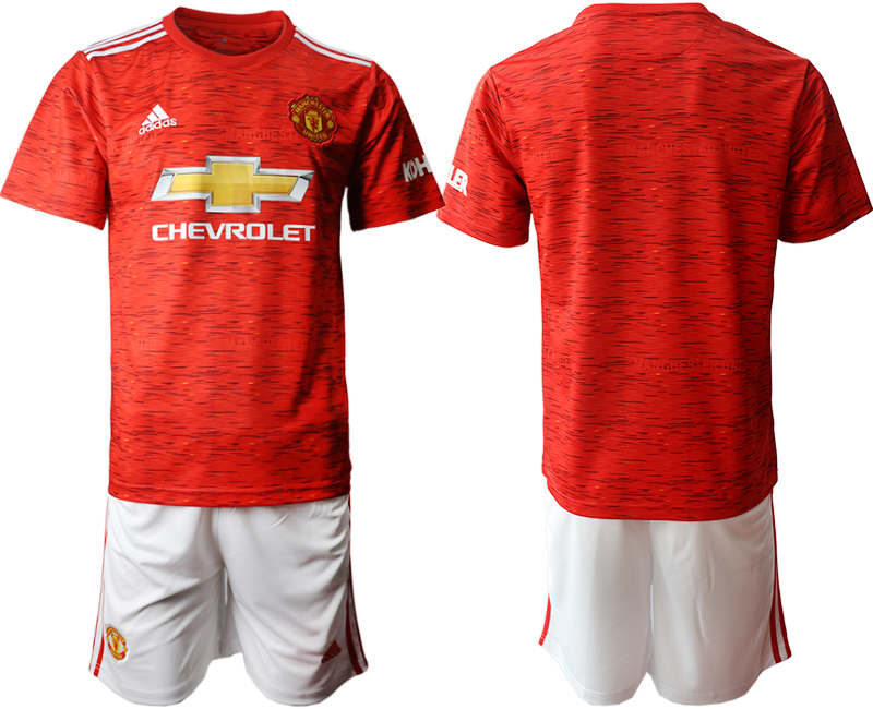 2020-21 Manchester United Home Soccer Jersey