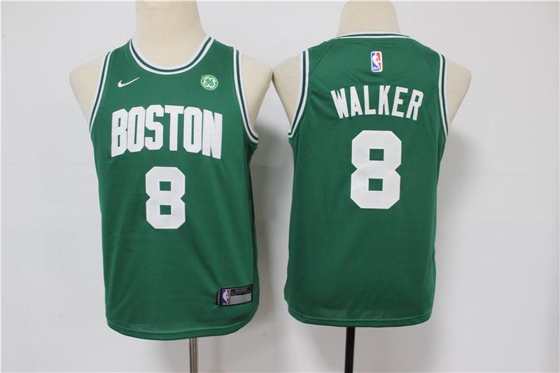 Celtics 8 Kemba Walker Green Youth Swingman Jersey