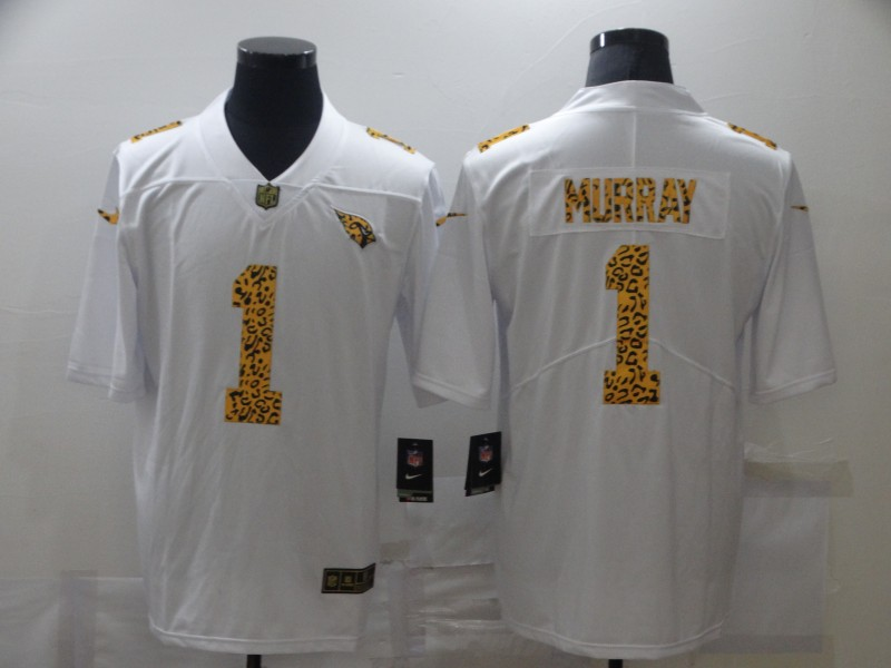 Nike Cardinals 1 Kyler Murray White Leopard Vapor Untouchable Limited Jersey