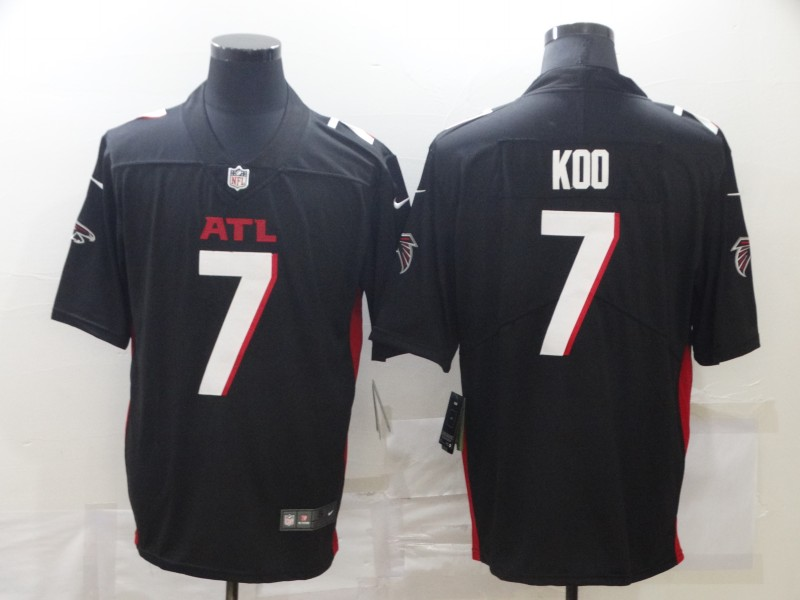 Nike Falcons 7 Younghoe Koo Black New Vapor Untouchable Limited Jersey